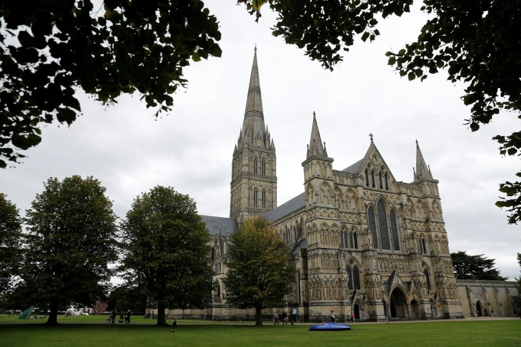 Salisbury's famous cathedral is the main tourist attraction in the picturesque city