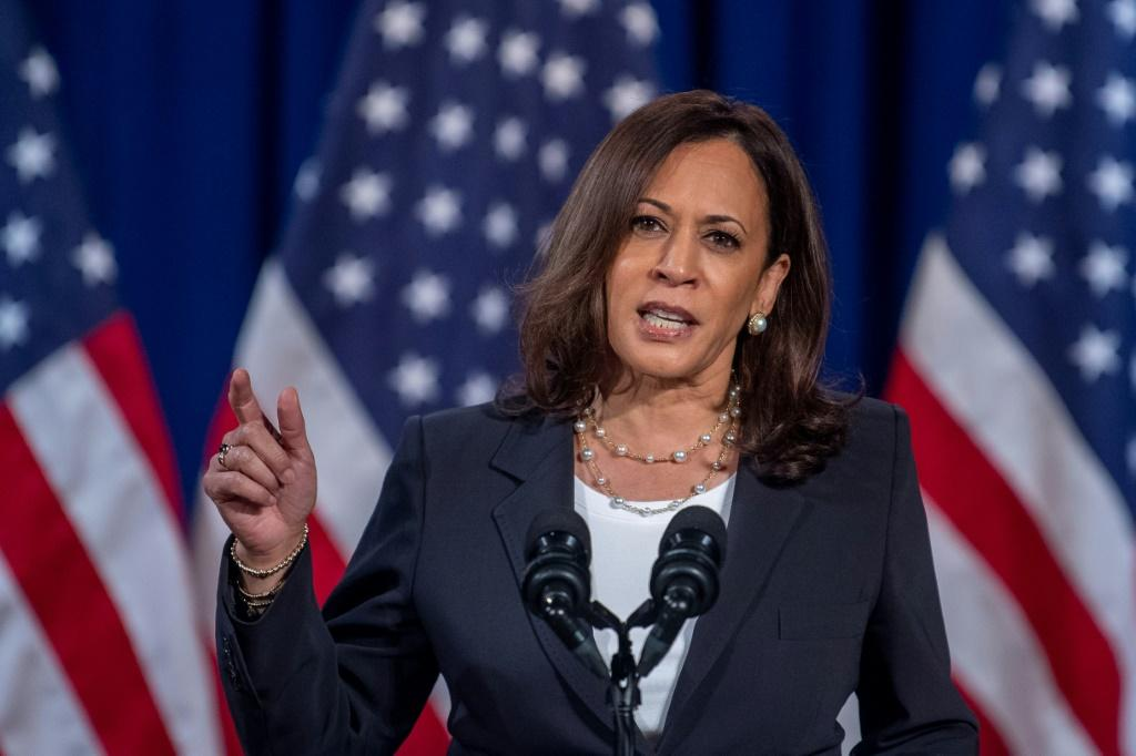 Democratic vice presidential nominee Kamala Harris said that if a coronavirus vaccine is available before November's election she would not take President Donald Trump's word on its safety and efficacy