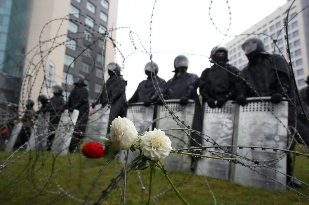 Belarusians have been demonstrating across the country for nearly a month