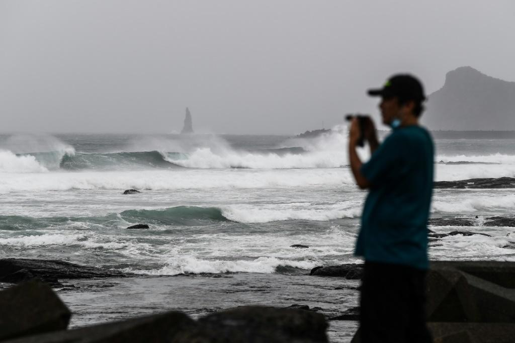 Japanese officials have warned that there may be record rainfall in some areas because of Typhoon Haishen