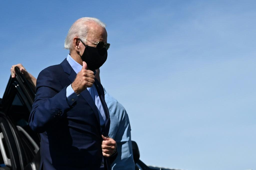 Democratic presidential candidate Joe Biden headed to Pennsylvania as Labor Day kicks off the final stretch of the White House race