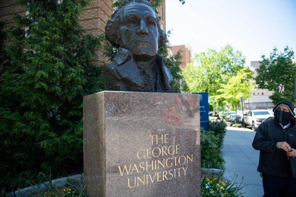 George Washington University, which announced that Dr Jessica Krug, a white professor who for years posed as a black woman, has quit her post