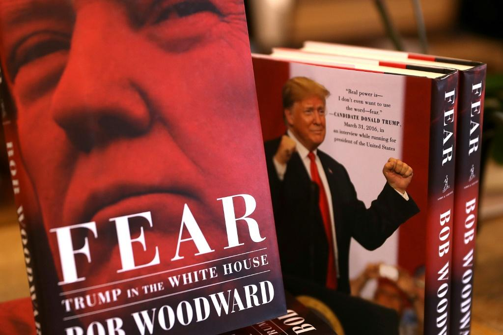 """Fear,"""" Bob Woodward's 2018 book about the Trump White House"""