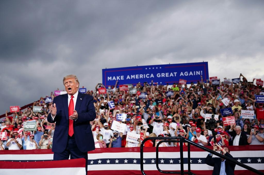US President Donald Trump appreciates the spectacle of a large campaign rally, and during his 2020 re-election effort he is seeking to repeat the campaign magic that fueled his improbable victory in 2016