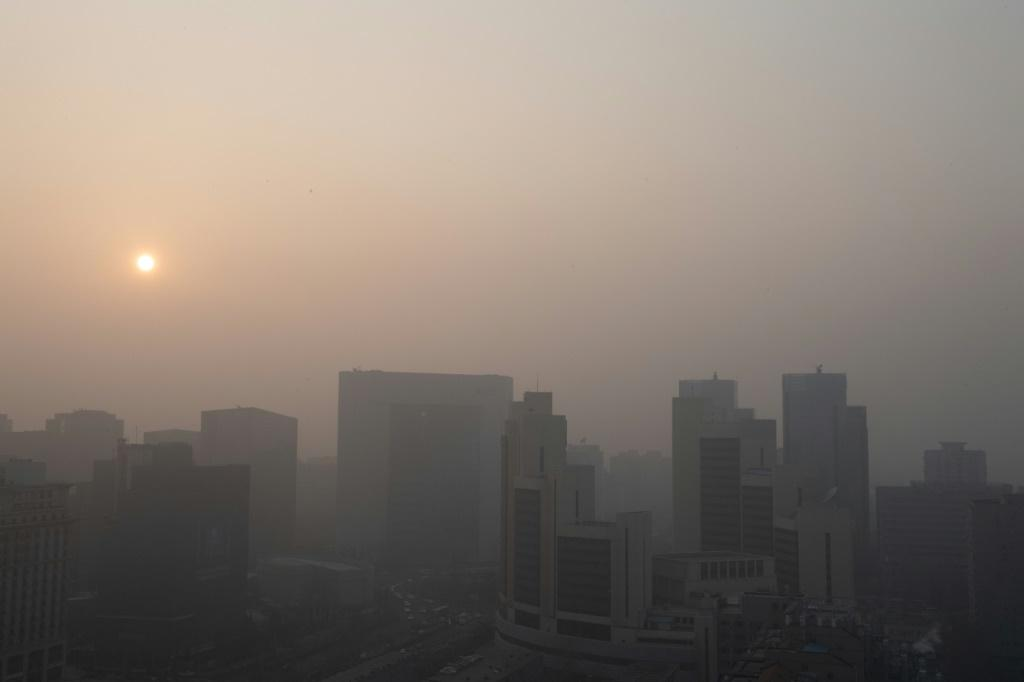 A polluted day in Beijing in January 2020. Brussels hopes to press China to be more ambitious in its efforts to cut emissions