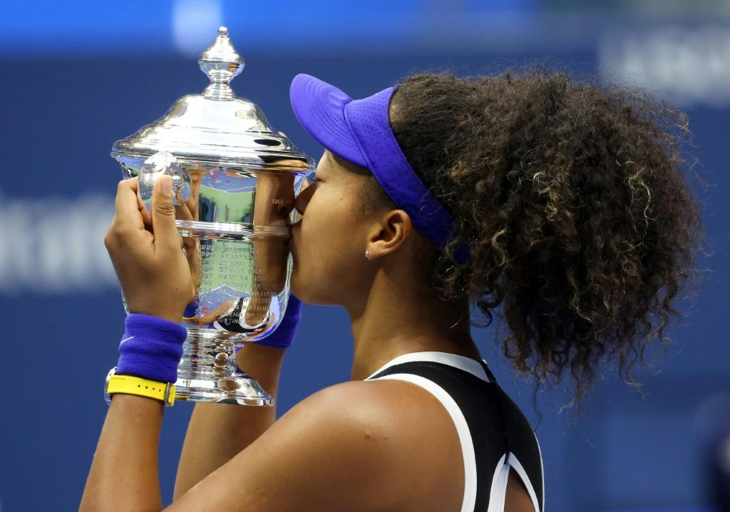 Naomi Osaka won the 2020 US Open for her third Grand Slam title