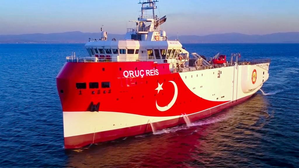 Turkey sent the Oruc Reis research vessel to disputed waters near a Greek island on August 10 and prolonged the mission three times despite repeated calls from the European Union and Greece to stop.