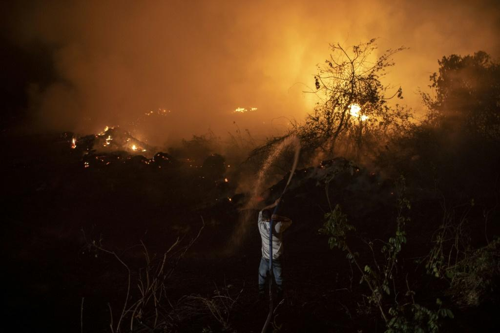 Brazil's Pantanal -- the world's biggest tropical wetlands -- is suffering its worst fires in more than 47 years