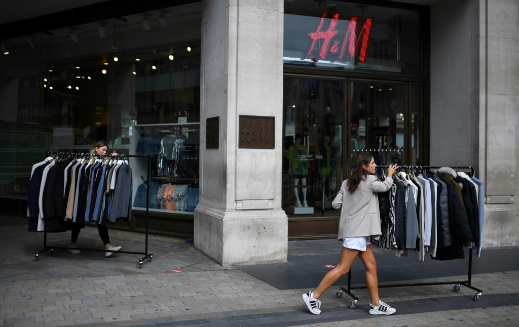 Fast fashion: H&M appears to have adapted quickly to the coronavirus, bouncing back into profit despite a continuing drop in sales