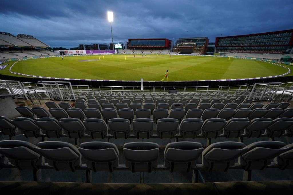 England and Australia play at an empty Old Trafford