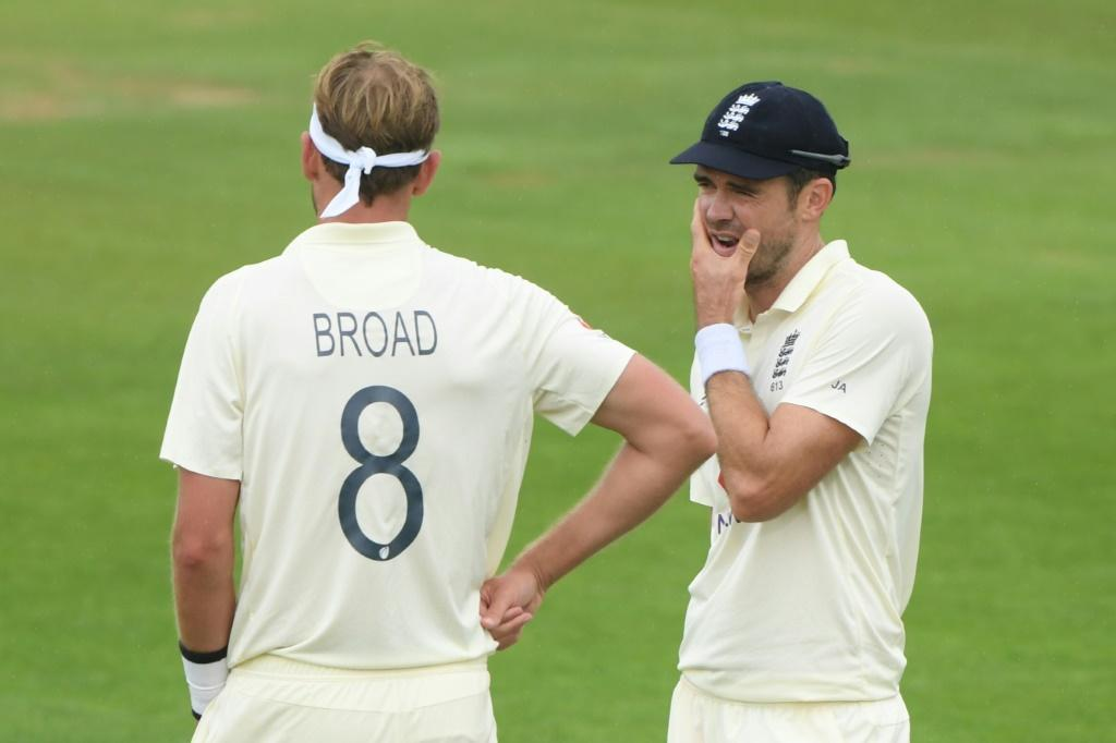England pacemen Stuart Broad and James Anderson have more than 1,100 Test wickets between them