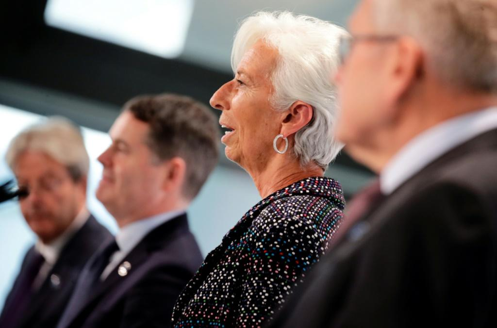For ECB chief Christine Lagarde there are still too few women in top jobs