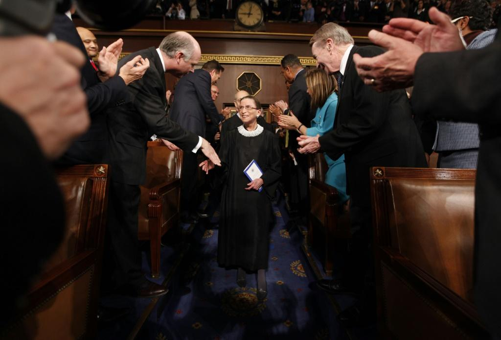 Affectionately known as the Notorious RBG, the 87-year-old Ginsburg was the oldest of nine Supreme Court justices
