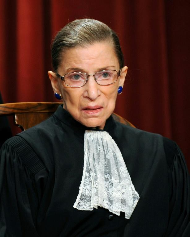 Ruth Bader Ginsburg was known for her signature embellished collars or jabots