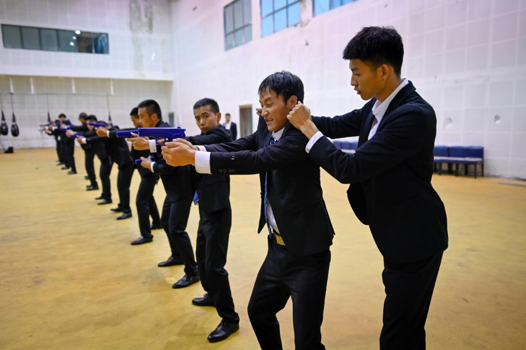 The guns at the Tianjin school are fake -- China outlaws possession of firearms