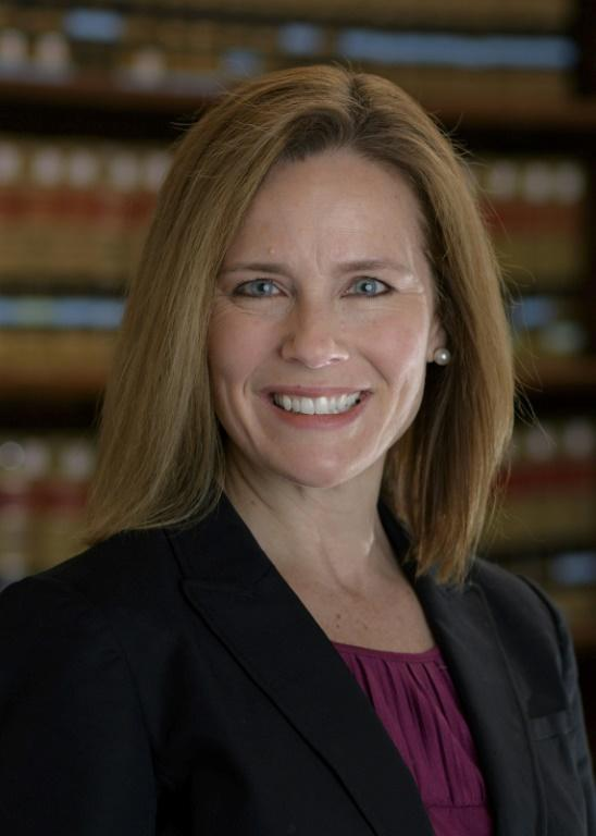"Catholic judge Amy Coney Barrett, who was told by Senator Dianne Feinstein. ""The dogma lives loudly in you"