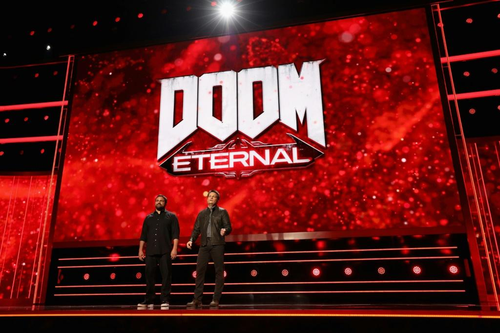 Popular game franchises which Microsoft will acquire in its deal for ZeniMax Media include the first-person shooter game Doom