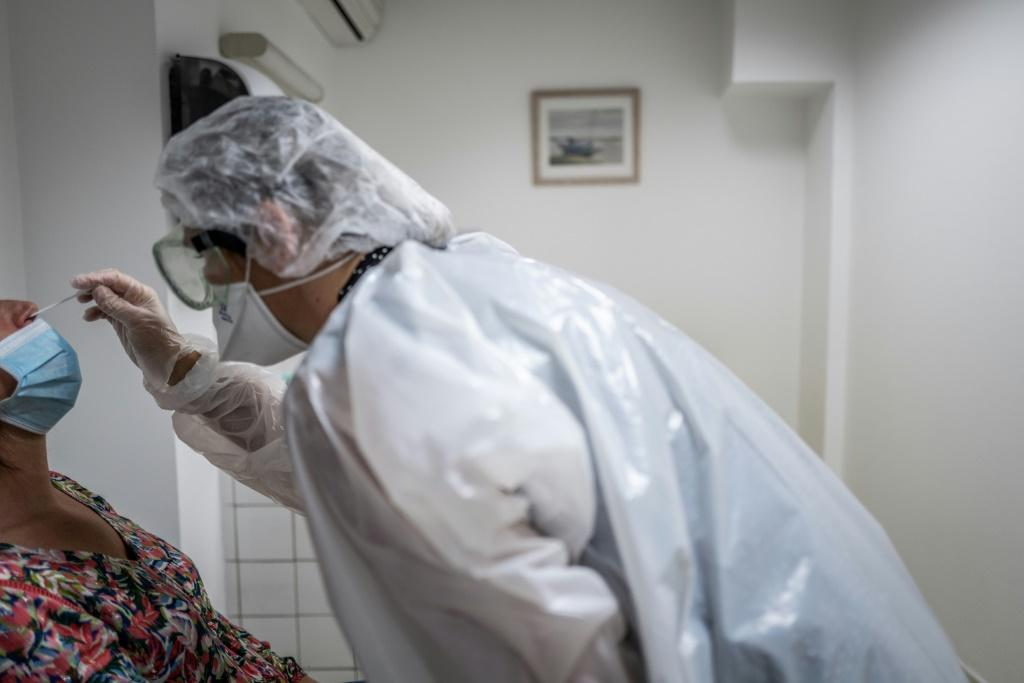 French officials are looking to speed up testing as they battle against rising infections