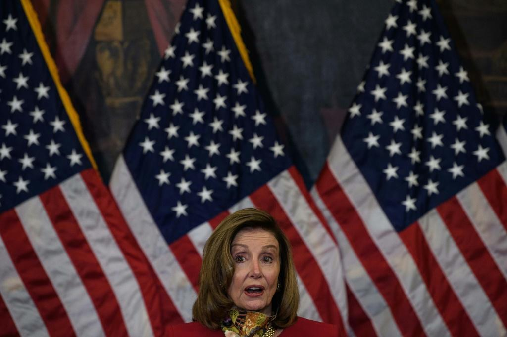 House Speaker Nancy Pelosi said the party was working on a new US stimulus proposal and said she was looking for a deal but the $2.4 trillion plan is much higher than the Republican proposal