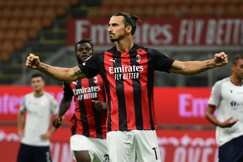 AC Milan's Swedish forward Zlatan Ibrahimovic is the latest sports star to test positive for the virus