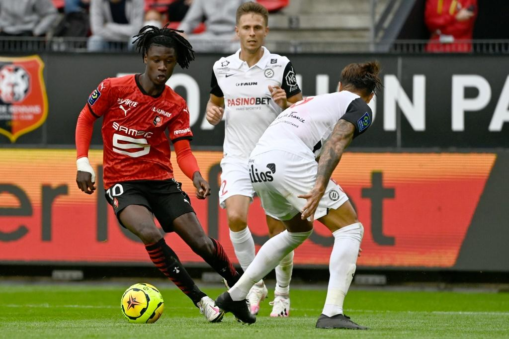 Eduardo Camavinga of Rennes is arguably the most exciting young talent in world football just now