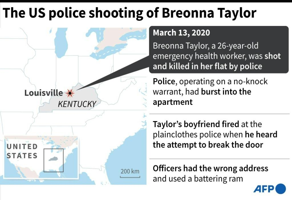 Factfile on the fatal shooting by US police of Breonna Taylor in March 2020
