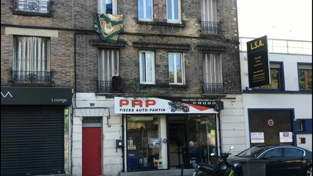 IMAGES Images of one of the two presumed properties linked to the main suspect in the Paris suburb of Pantin after a man armed with a meat cleaver wounded two people outside the former offices of satirical weekly Charlie Hebdo.