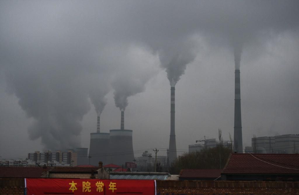 China burns about half the coal used globally each year