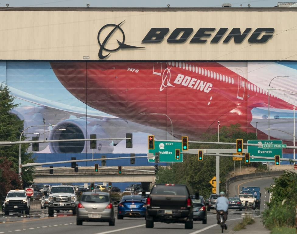 Boeing will shift some 787 plane production from its Everett, Washington, site pictured here, to its South Carolina factory; Everett will continue to produce other Boeing planes