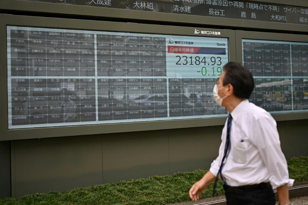 The trading halt is the worst to hit Tokyo for at least 13 years
