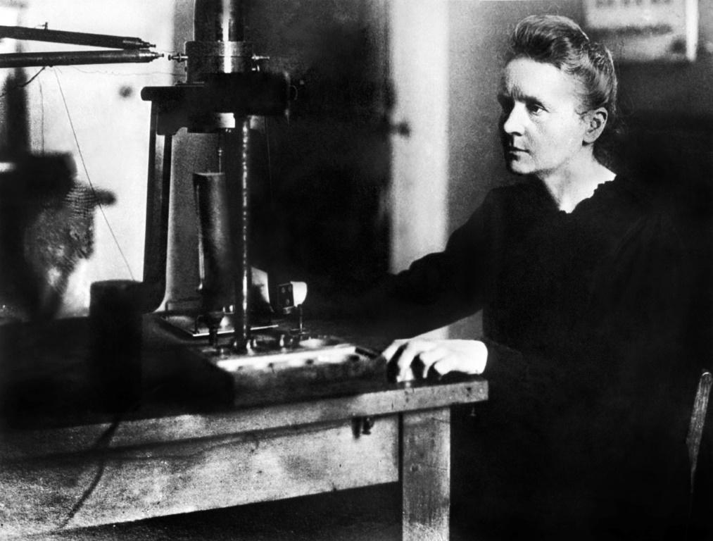Marie Curie, the first woman to win a Nobel science prize, and the only person to win one in two different disciplines (physics and chemistry)