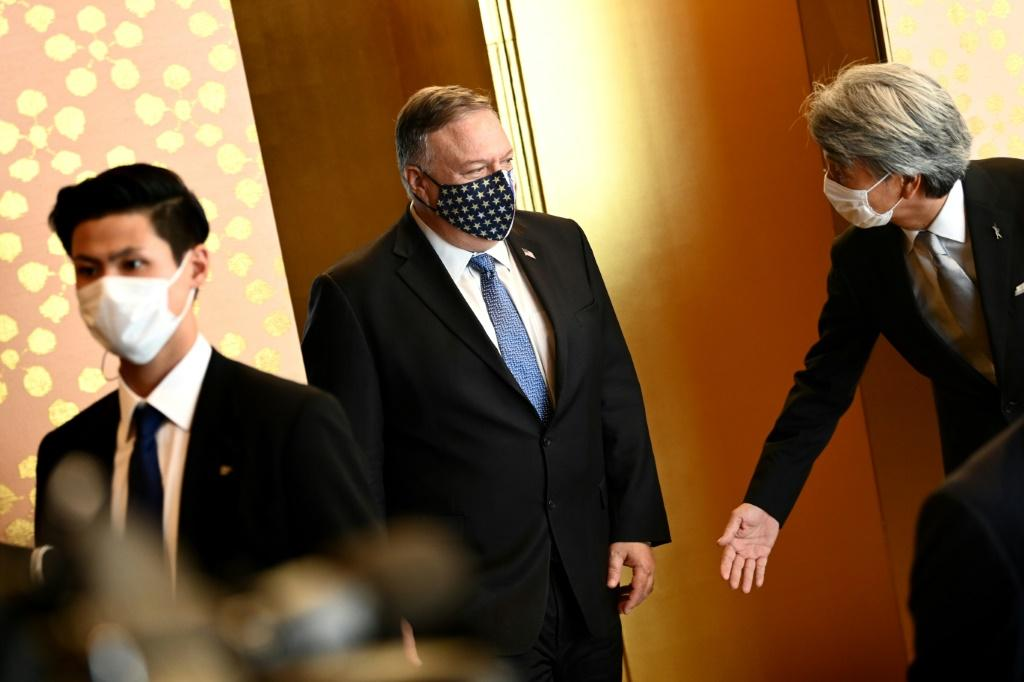 Pompeo has scrapped stops in South Korea and Mongolia given the crisis in Washington where Trump and a raft of staffers have contracted coronavirus
