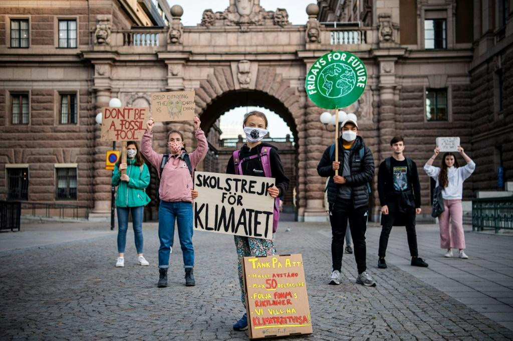 """Swedish climate activist Greta Thunberg's """"School Strike for the Climate"""" has raised public awareness about the dangers of global warming and mobilised millions of young people across the planet"""