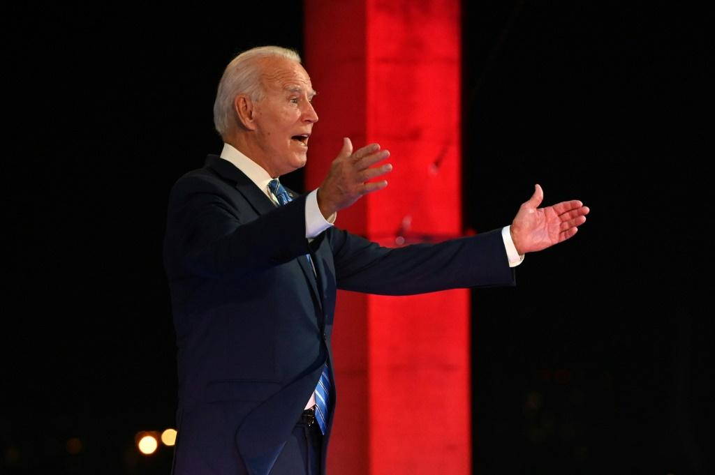 Joe Biden is currently riding close to 10 points ahead of Donald Trump in national polls ahead of the November 3 election