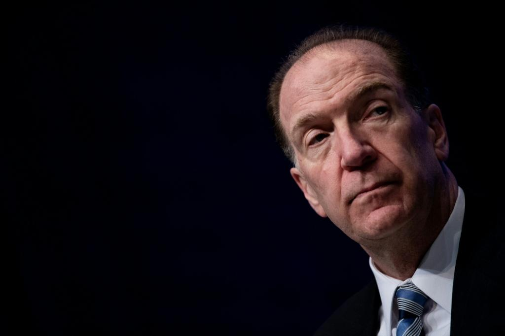 World Bank President David Malpass said both private creditors and major economies needed to step up debt relief efforts for poor countries