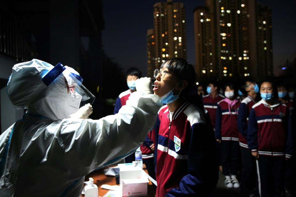 China is rushing to test the entire population of Qingdao -- nine million people -- for the coronavirus