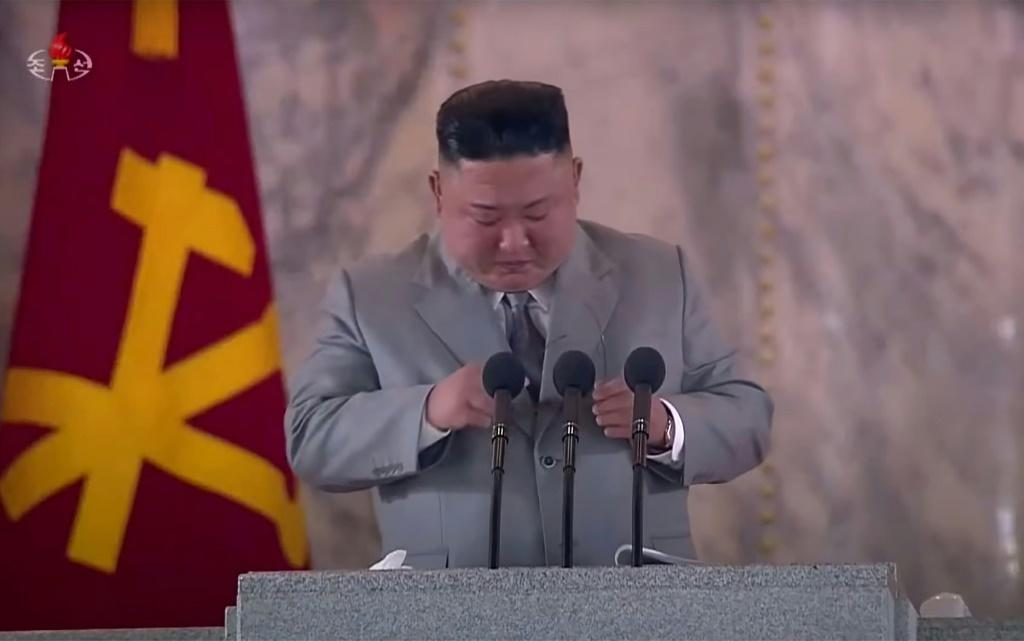 Kim Jong Un is offering the world a different image: emotional and apologetic