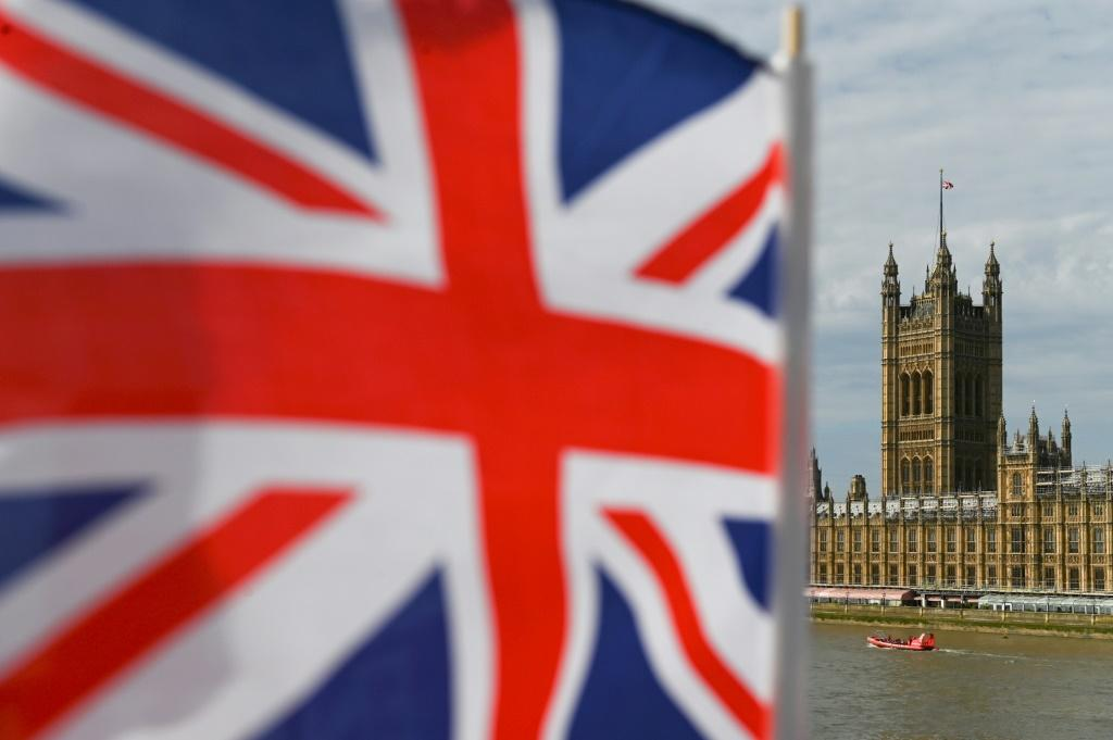 The UK economy is predicted to grow by 5.9 percent in 2021, down from prior guidance of 6.3 percent, according to the IMF's latest World Economic Outlook