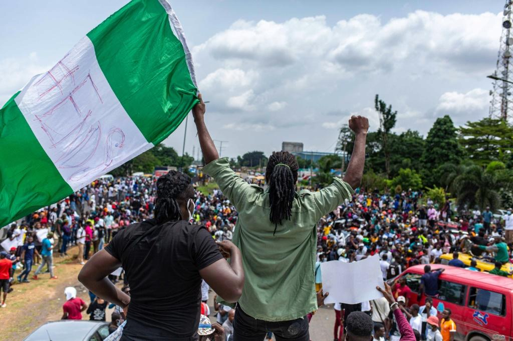 Across Nigeria, young protesters have sang and danced, calling for the political change and the end to police brutality