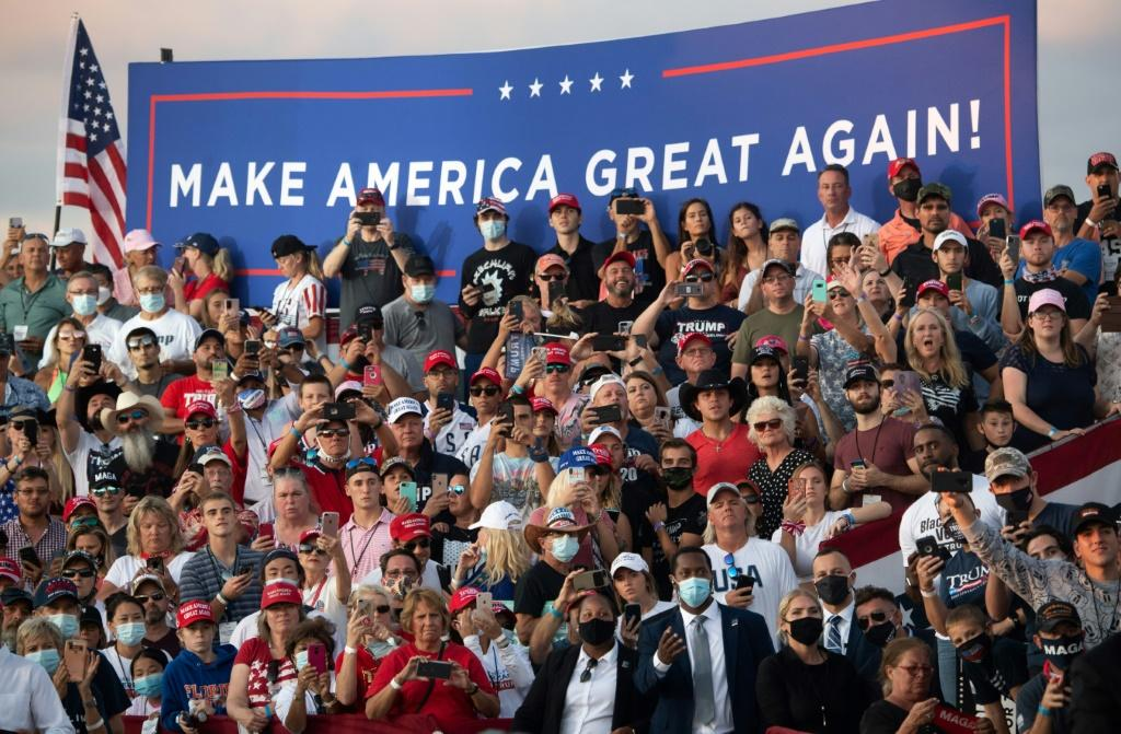 President Donald Trump has hit the ground again with back-to-back campaign rallies