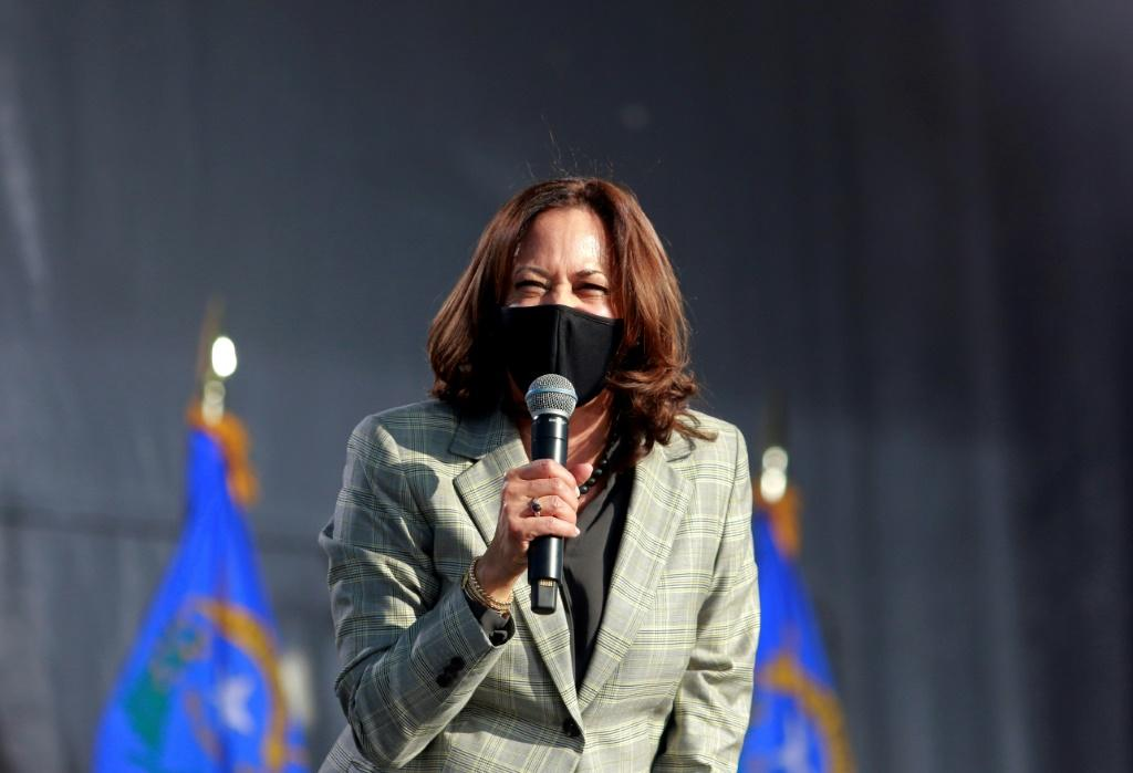 Democratic vice presidential nominee Kamala Harris has had two negative PCR tests since flying with the staffer, her campaign said