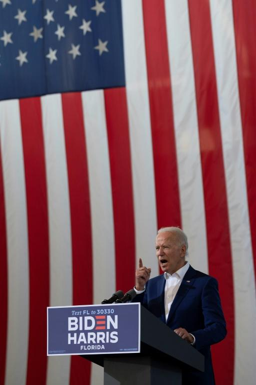 Biden's Lead Over Trump Slips To Just 5 Points