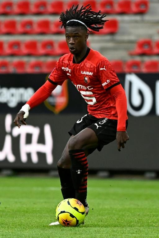 Eduardo Camavinga of Rennes and France is arguably the hottest young prospect in world football