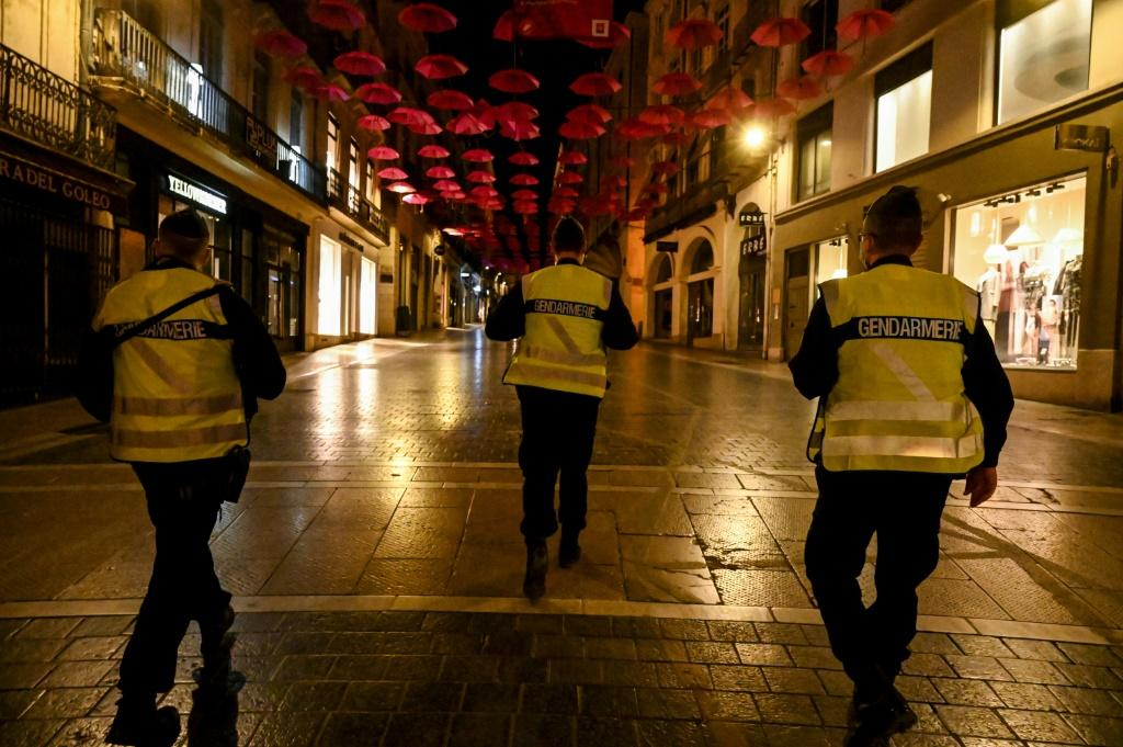 About 20 million people in the Paris region and eight other French cities are under the curfew