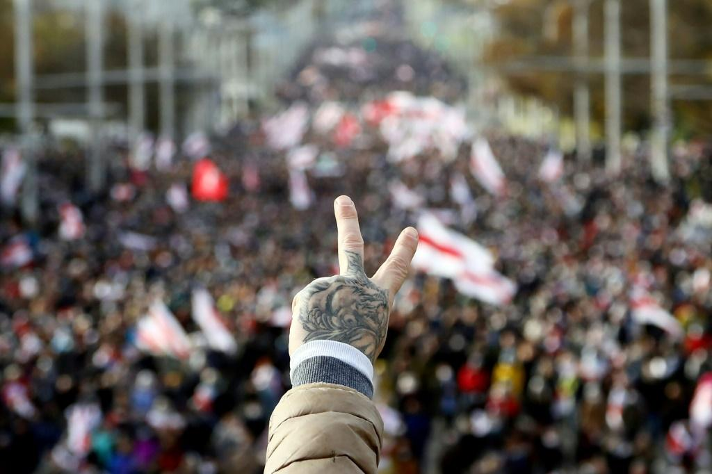 The protest movement has kept up mass demonstrations for the past two months