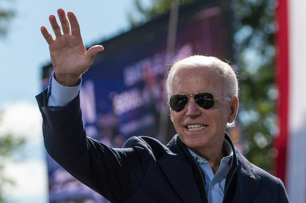 Democratic presidential nominee Joe Biden leads in polls against US President Donald Trump heading into the final two weeks of campaigning before the November 3, 2020 election