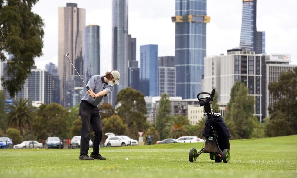 Residents of Melbourne dashed back to reopened salons and golf courses