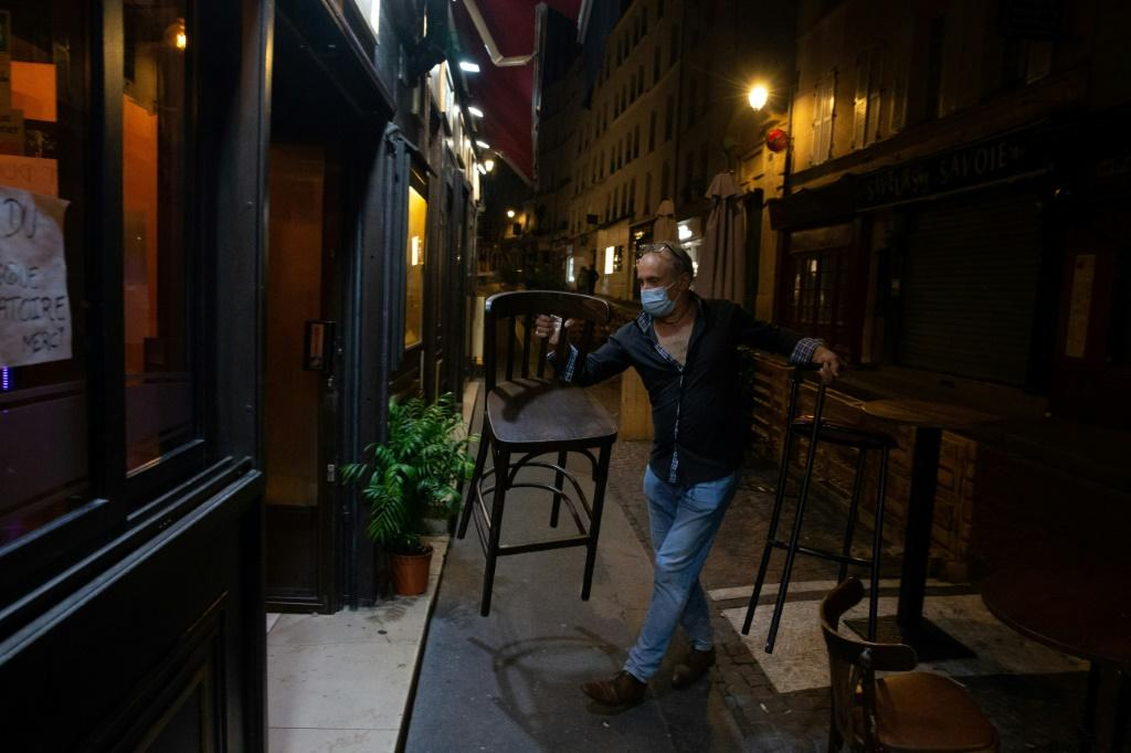Several European countries have been shuttering bars and restaurants in a bid to fight a rampaging second coronavirus wave