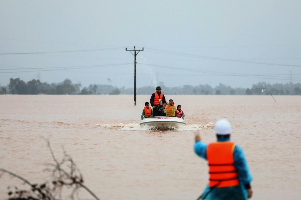 Vietnam has been hit by severe flooding and landslides