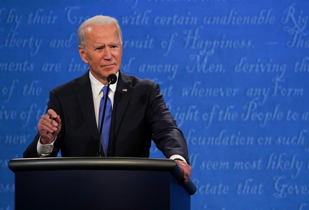 Democratic candidate and former US vice president Joe Biden attacked President Donald Trump over his North Korea diplomacy during the final presidential debate at Belmont University in Nashville, Tennessee